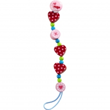 Pacifier Chain Heart to Heart by HABA