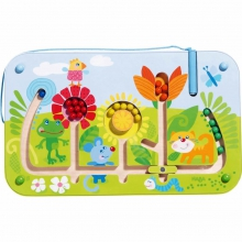 Magnetic Game Flower Maze by HABA