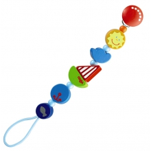 Ship Ahoy Pacifier chain by HABA