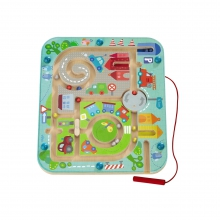 Town Maze Magnetic Game by HABA