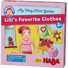 My Very First Games - Lilli's Favorite Clothes by HABA