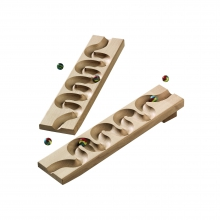 Winding Track Set (Marble) by HABA