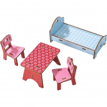 Little Friends - Dollhouse furniture Homestead by HABA