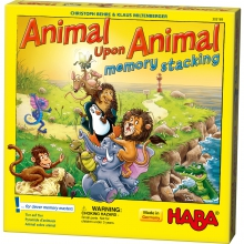 Animal upon Animal - Stacking memory by HABA