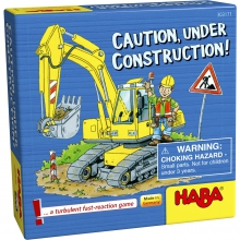 Caution, under construction! by HABA