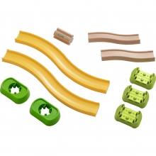 Kullerbu Complementary set Ramps & Friends by HABA