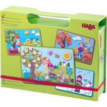 Magnetic game box The Seasons