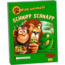 Wild animals - Schnipp Schnapp Card