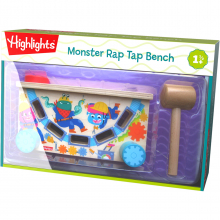 Monster Rap Tap Bench by HABA