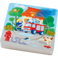Wooden puzzle Fire! Fire! by HABA