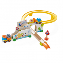 KUBU Construction Site Set (cars) by HABA in Bethesda MD