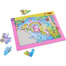 Unicorn Glitterluck Frame Puzzle