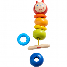 Threading Game Caterpillar by HABA