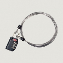 3-Dial TSA Lock & Cable by Eagle Creek