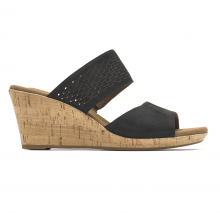 Briah Double Band Slip-On Wedge Sandal by Rockport