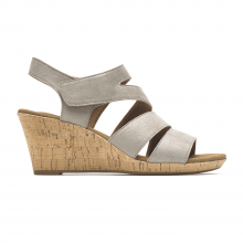 Briah Strappy Wedge Comfort Sandal by Rockport