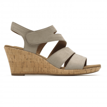 Briah Strappy Wedge Comfort Sandal by Rockport in Fort Morgan Co