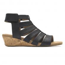 Calia Gladiator Mid Wedge Sandal by Rockport