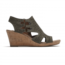 Cobb Hill Janna Wedge Sandal by Rockport
