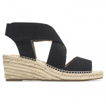 Cobb Hill Kairi X Strap Wedge Espadrille by Rockport in Grand Island NE