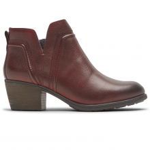 Women's Anisa Vcut Bootie by Rockport in Macomb IL