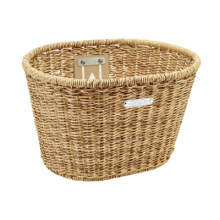 Woven Plastic Basket by Electra