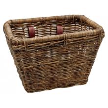 Woven Rattan Rectangular Basket by Electra