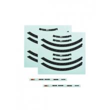 Bontrager Aeolus Comp Disc Rim Decal Sets by Trek
