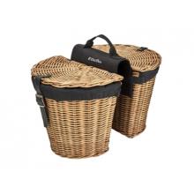 Rattan Pannier Basket by Electra