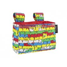 Graffiti Drip Velcro Handlebar Bag