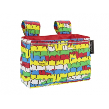 Graffiti Drip Velcro Handlebar Bag by Electra in Marshfield WI