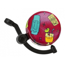 Tiki Time Domed Linear Bike Bell by Electra