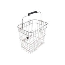 Stainless Wire Pannier Basket by Electra
