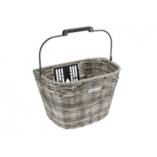 All-Weather Woven Front QR Basket by Electra