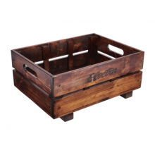 Wooden Rear Bike Crate by Electra