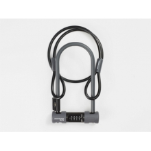 Bontrager Elite Combo U-Lock with Cable by Trek in Casper WY