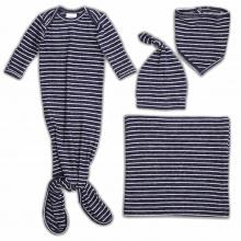 navy stripe - snuggle knit by aden + anais