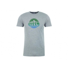 Men's Heather Gray Nature Logo Tee