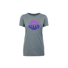Women's Heather Gray Nature Logo Tee