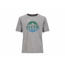 Boy's Heather Gray Nature Logo Tee by Eagles Nest Outfitters