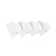 White Basics Bandana Bib Set