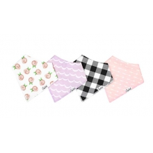Rosie Bandana Bib Set by Copper Pearl in Roseville Ca