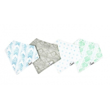 Jude Blue Bandana Bib Set by Copper Pearl in Hope Ar