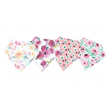 Bloom Bandana Bib Set by Copper Pearl in Hope Ar
