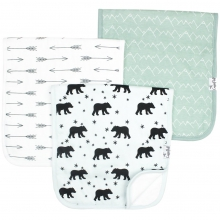 Archer Burp Cloth Set by Copper Pearl in Roseville Ca