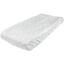 Slate Diaper Changing Pad Cover