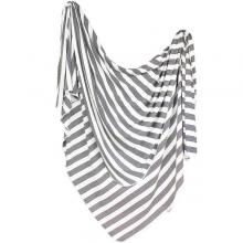 Tribe Stripes Knit Blanket Single by Copper Pearl