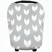 Grey Shade Tail Feathers Multi-Use Cover