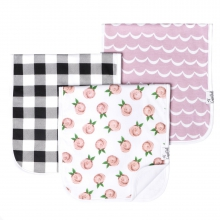 Rosie Burp Cloth Set by Copper Pearl
