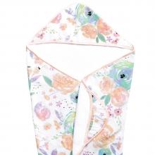 Bloom Muslin Hooded Towel